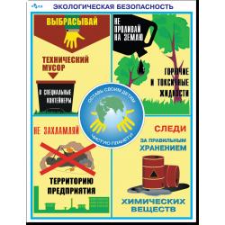 """Плакат """"Экологическая..."""