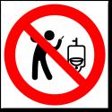 Запрещено мыть руки легковоспламеняемыми жидкостями