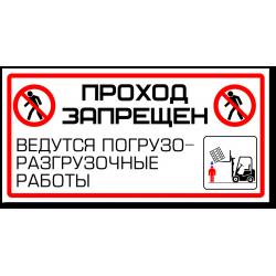 "Знак ""Проход запрещен..."