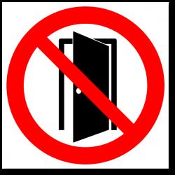 """Знак """"Запрещается держать..."""