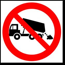"""Знак """"Свалка мусора запрещена"""""""