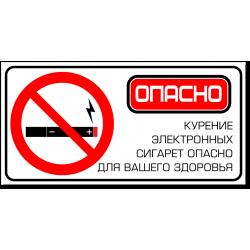 """Табличка """"Курение..."""