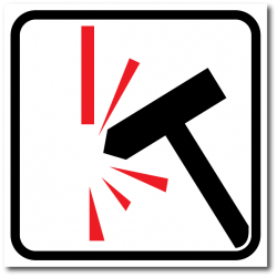 Направление к эвакуационному выходу налево вверх фотолюм