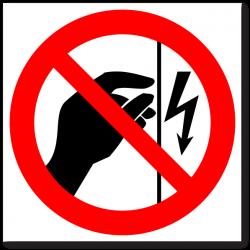 """Знак """"Запрещается..."""