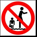 Запрещается пользоваться телефонами во время движения по лестнице