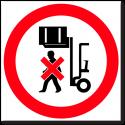 Запрещается лазить по стеллажам