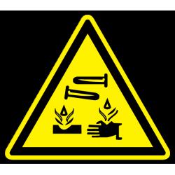 """Знак """"Опасно. Едкие и..."""