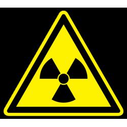 """Знак """"Опасно. Радиоактивные..."""