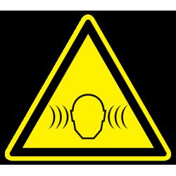 """Знак """"Внимание! Сильный шум!"""""""