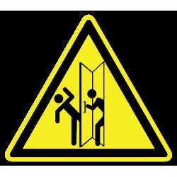"""Знак """"Осторожно. Распашные..."""