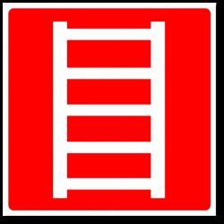 """Знак """"Пожарная лестница"""""""