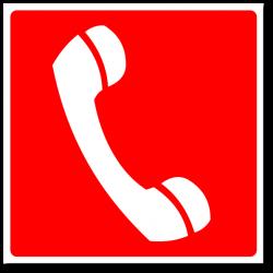 """Знак """"Телефон для..."""