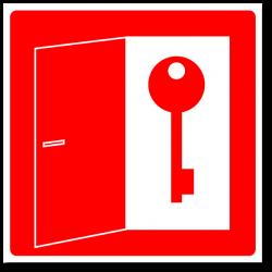 """Знак """"Место хранения ключей"""""""
