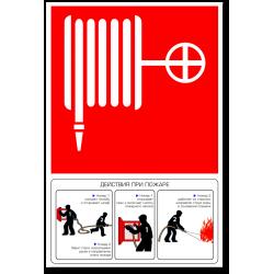 """Знак """"Пожарный кран с..."""