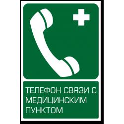 """Знак """"Телефон связи с..."""