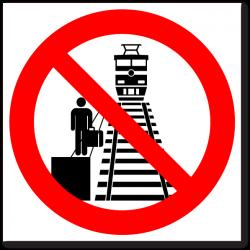 Вход на роликах запрещен