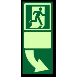 Эвакуационная табличка под...