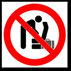 """Знак """"Не трогать..."""